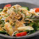 肉×魚×日本酒 照 - 『鶏のコブサラダ』
