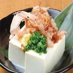 肉×魚×日本酒 照 - 『冷奴』