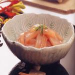 肉×魚×日本酒 照 - 『烏賊の塩辛』