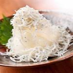 肉×魚×日本酒 照 - 『しらすおろし』