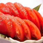 肉×魚×日本酒 照 - 『冷やしトマト』