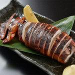 肉×魚×日本酒 照 - 『烏賊の丸焼き』