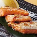 肉×魚×日本酒 照 - 『サーモンハラス焼き』