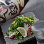 肉×魚×日本酒 照 - 『蛸の葱盛りポン酢』