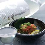 肉×魚×日本酒 照 - 『炙り明太子』
