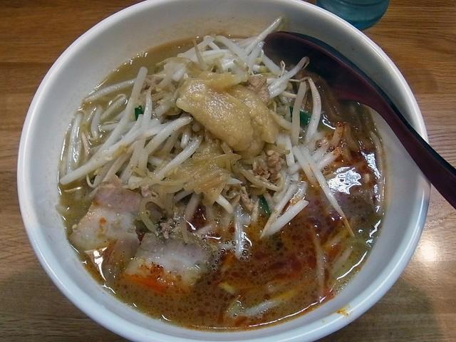 味噌麺処 楓 - 辛味噌ラーメン 820円