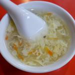 北京料理 東興樓 - 卵スープ