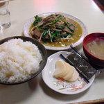 中華料理 大勝軒 - 料理写真:【2011.03. 再訪】 レバニラいため定食850円