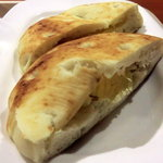 イタリアン・トマトカフェジュニア - モーニングフォカッチャセット350円