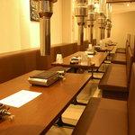 焼肉グレート - 個室は最大28名様ご利用いただけます。