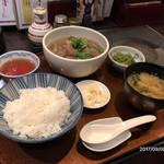 72758986 - 【馬煮(さくら)込み御膳】(870円税込)
