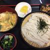 五月庵 - 料理写真:ミニカツ丼+ざるそばセット¥750