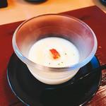 喜泉 - 料理写真:さつまいものすり流し