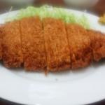 新喜楽亭 - チキンかつ定食@¥800