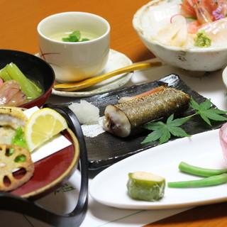 地元の旨い季節の魚や野菜で宴会♪接待、観光にも◎