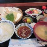 高七 - 「日替わり天ぷら定食」