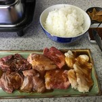 鹿児島ラーメン 真琴 - 焼肉セット
