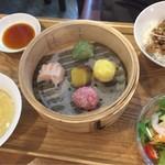 茶月譚 - 魯肉飯点心ランチ