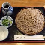 司津屋 - ざる蕎麦 大  ¥750+¥200