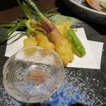 いづものSAKABA - 出西生姜の天麩羅