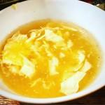 72766704 - 美味しい卵スープです♡