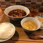 72766744 - 麻婆豆腐ランチ  ¥900