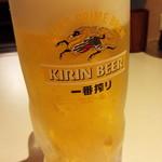 万さく - 生ビール