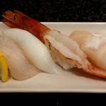 廻転寿司 伊豆太郎 - 塩レモン握り