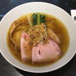 Japanese Soba Noodles 蔦 - 「煮干Soba」800円