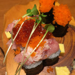 海鮮鮨市場 魚がし - 新鮮巻?