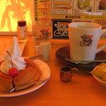 コメダ珈琲店 - 料理写真:MY定番セット