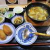 肴町のわが家 - 料理写真:ひっつみ汁定 700円