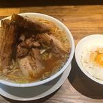本気の焼豚 プルプル食堂 - 本気の炙り焼豚定食