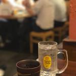 餃子と唐揚げの酒場 難波のしんちゃん - リーマンの皆様&安定の芋ロック☆彡