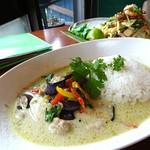 cafe食堂BAOBAB - 料理写真:タイのグリーンカレー