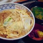 そば処仙波 - カツ丼