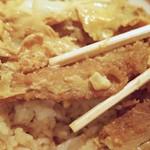 そば処仙波 - カツ丼のカツ
