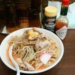濃厚タンメン三男坊 - 麺なし辛スープ野菜マシ