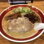 白狼軒 - 味噌ラーメン 842円