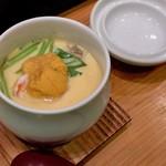 つきぢ神楽寿司 - 海鮮茶碗蒸し