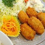 よし味食堂 - カキフライ定食♪