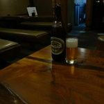 味司 野村 - 昼からビール。