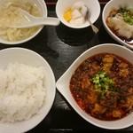 72780489 - 麻婆豆腐のランチ