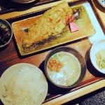 なかよし - 鯖の大葉味噌焼き定食