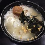72783006 - 紀州冷やしのスープ茶漬け