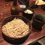 72783111 - 【そば屋におまかせコース】(2160円税込)〆のせいろ蕎麦。