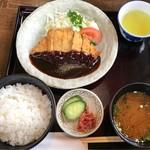 らんたん - 料理写真:みそかつランチ 税込780円