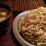 蕎麦切塩釜 - 鶏汁せいろ