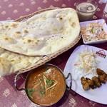 パキスタン・アラビアン・インド料理 デラ - 料理写真:Bミール(ランチ)950円