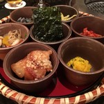 五穀亭 - 前菜